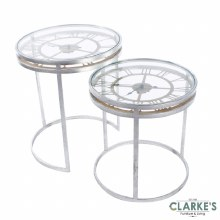Carlton Clock Accent Table