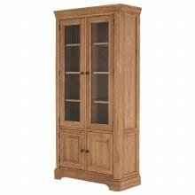 Carmen Oak Display Cabinet