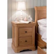 Carmen Oak Bedside Locker
