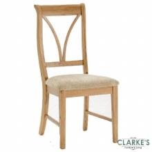Carmen Oak dining chair