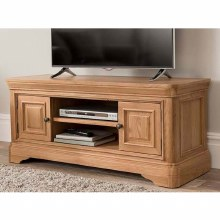 Carmen Oak TV Unit