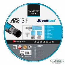 Cellfast Smart Garden Hose With Fittings 30 Meter
