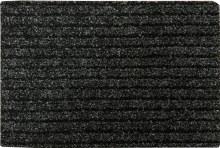 Charcoal Deep Stripe Door Mat 40x60cm