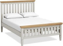 Chester White Wooden Bed Frame 4ft6