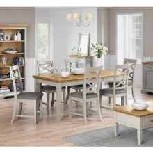 Chester Dining Set. Extending Table and 6 Chairs