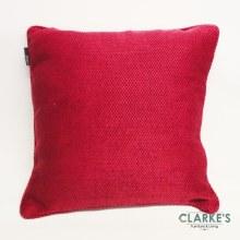 Chunky Knit Raspberry Cushion