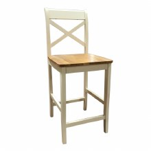 Clermont Cream Bar Stool