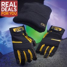 CLC FlexiGrip Carpenter's Gloves & Hat