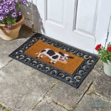 Daisy - Coir Door Mat (Frame not included)