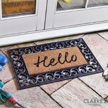Hello! - Door Mat ( Frame not included)