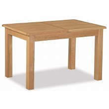Salisbury Lite Compact Oak Extending Dining Table