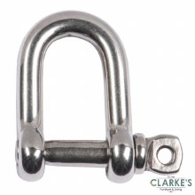 Connex Bolted Shackle Stainless Steel M6 | 2 Pack