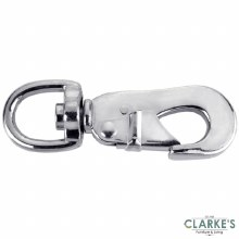 Connex Nickel Snap Hook with Turnable Ring 85 mm