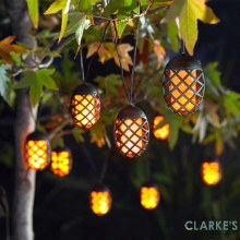 Cool Flame - Solar String Lights