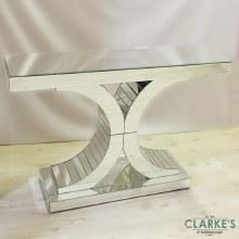 Corsa All'Argento Mirrored Console Table