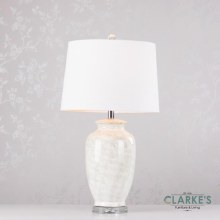 Cory Ceramic Table Lamp 74cm