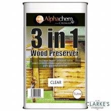 Cromar 3 in 1 Wood Preserver 1 Litre