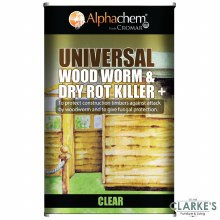 Comar Woodworm & Dry Rot Killer Plus 5 itre