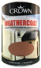 Crown Weathercoat Cinnbar 5L