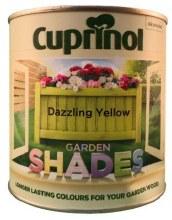 Cuprinol Garden Shades Dazzling Yellow 1L