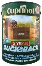 Cuprinol Ducksback Harvest Brown 5Ltr