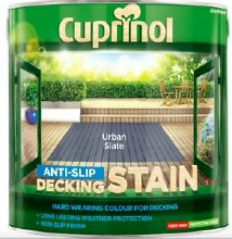 Cuprinol Urban Slate Anti-Slip Decking Stain 2.5 Litre
