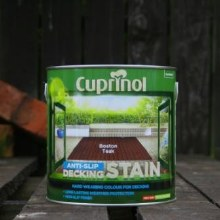 Cuprinol Boston Teak Anti-Slip Decking Stain 2.5 Litre