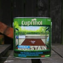 Cuprinol Cedar Fall Anti-Slip Decking Stain 2.5 Litre