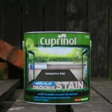 Cuprinol Hampshire Oak Anti-Slip Decking Stain 2.5 Litre
