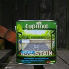 Cuprinol Silver Birch Anti-Slip Decking Stain 2.5 Litre