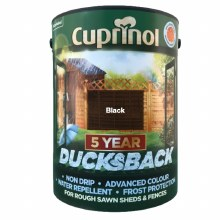 Cuprinol Ducksback Black 5Ltr