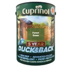 Cuprinol 5 Year Ducksback Forest Green 5Ltr