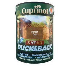 Cuprinol Ducksbackn Forest Oak 5Ltr