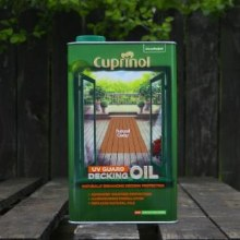 Cuprinol Decking Oil Natural Cedar 5 Ltr