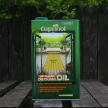 Cuprinol Decking Oil Natural Pine 5 Ltr