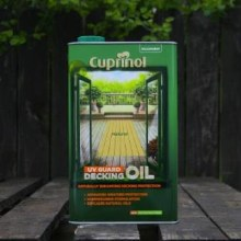 Cuprinol Decking Oil Natural 5 Ltr