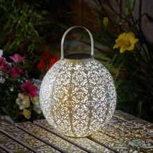 Damasque Solar Cream Lantern