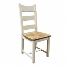 Danube White Dining Chair