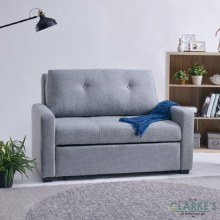 Davina Grey 2 Seater Sofa Bed