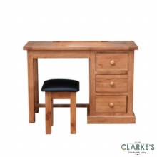 Devon Pine Dressing Table with Stool