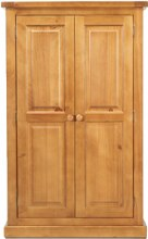 Devon Pine 2 Door Wardrobe