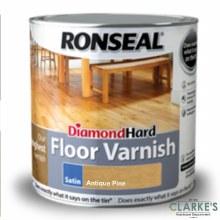 Ronseal Diamond Hard Floor Varnish Antique Pine 2.5 Litre