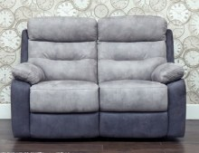 Dillon 2 Seater Recliner Sofa Grey
