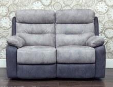 Dillon 2 Seater Recliner Sofa Grey