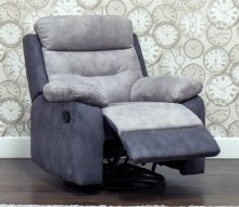 Dillon 1 Seater Recliner Grey
