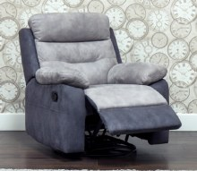 Dillon 1 Seater Recliner Grey