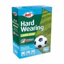 Doff Hard Wearing Lawn Seed with Pro-Coat 500g