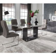 Donatella Dining Set. 160cm Table and 4 Chairs