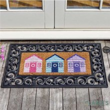 Beach Hut - Door Mat ( Frame not included)