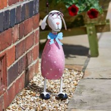 Dotty Sheep Garden Decoration